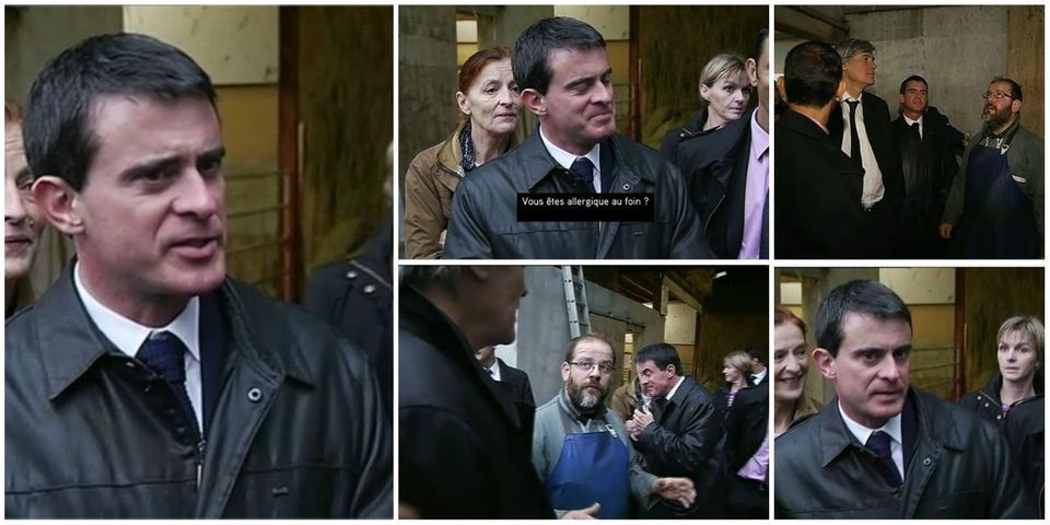 """Manuel Valls, """"allergique aux journalistes"""""""