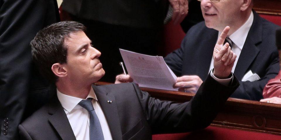 """Manuel Valls au député PS Sébastien Denaja : """"C'est con ! À 48 heures près, tu devenais ministre"""""""
