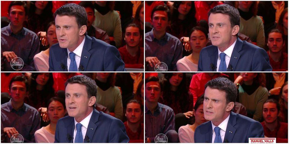 """Manuel Valls au Petit Journal : """"Il y a très longtemps que je ne me suis pas bourré la gueule"""""""