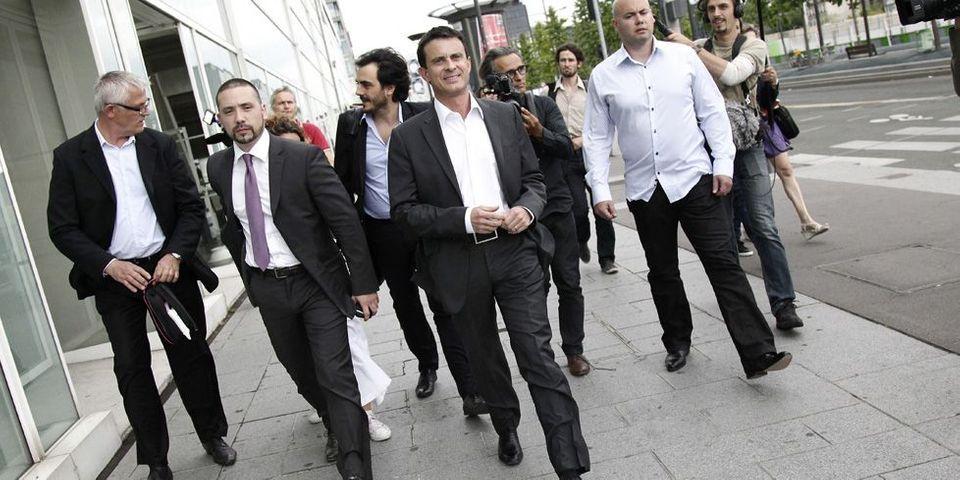 Manuel Valls candidat aux municipales d'Evry sur la liste PS/EELV