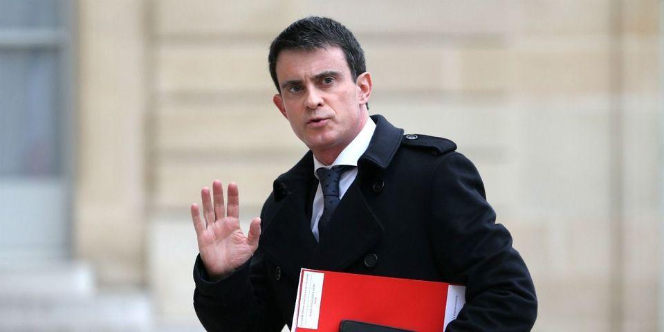 """Manuel Valls : """"C'est au président de la République de traiter Macron"""""""