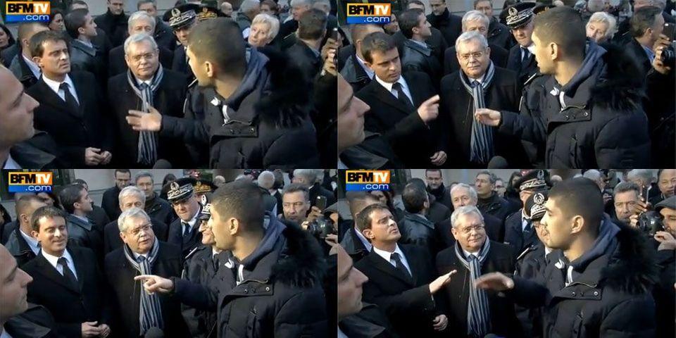 Manuel Valls chahuté lors d'une visite à Aulnay-sous-Bois