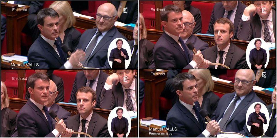 Manuel Valls confirme que le gouvernement utilise le 49.3 pour faire adopter le projet de loi Macron