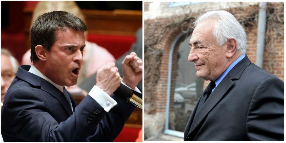 """Manuel Valls considère que les propositions de Dominique Strauss-Kahn sur la Grèce sont """"hors délai"""""""