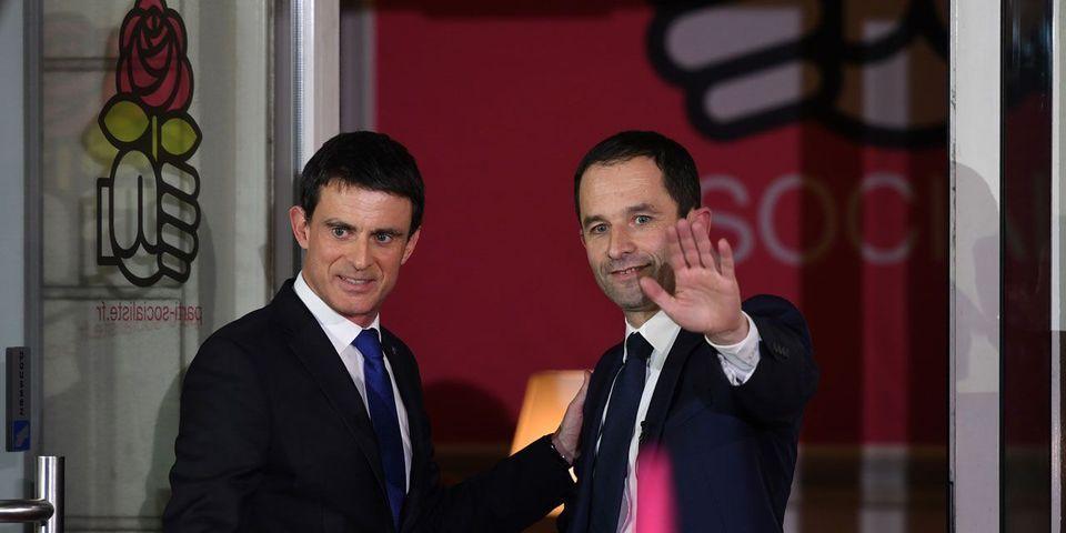 Manuel Valls dément appeler à voter Emmanuel Macron mais refuse de parrainer Benoît Hamon