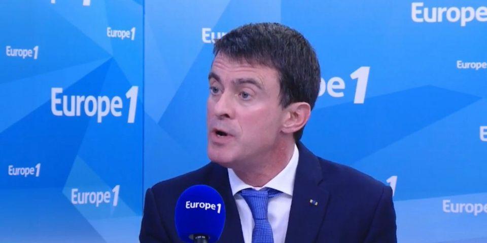 Manuel Valls dénonce les propos de Donald Trump sur la politique migratoire allemande (alors qu'il a formulé la même idée à Munich)
