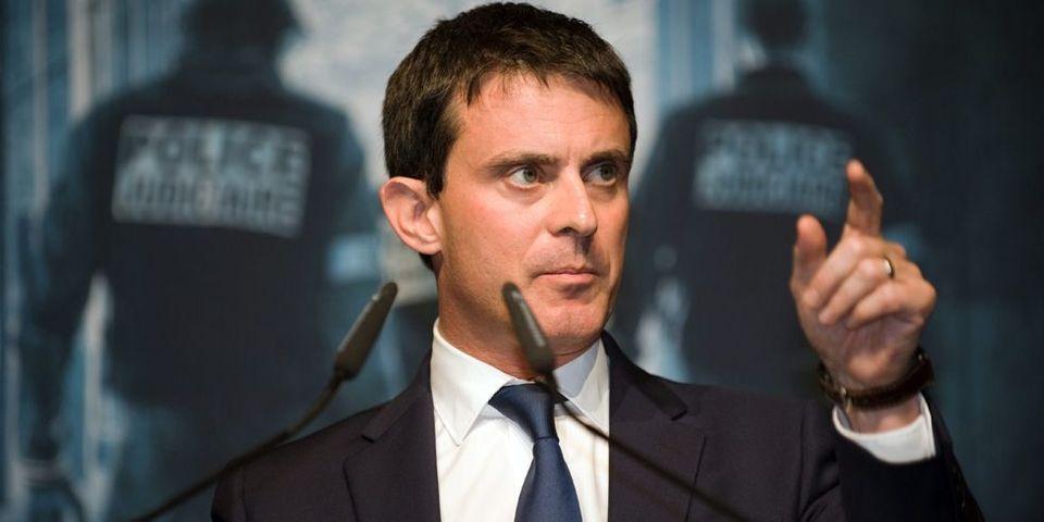 """Manuel Valls étudie """"les moyens pour agir contre la diffusion"""" de Minute"""