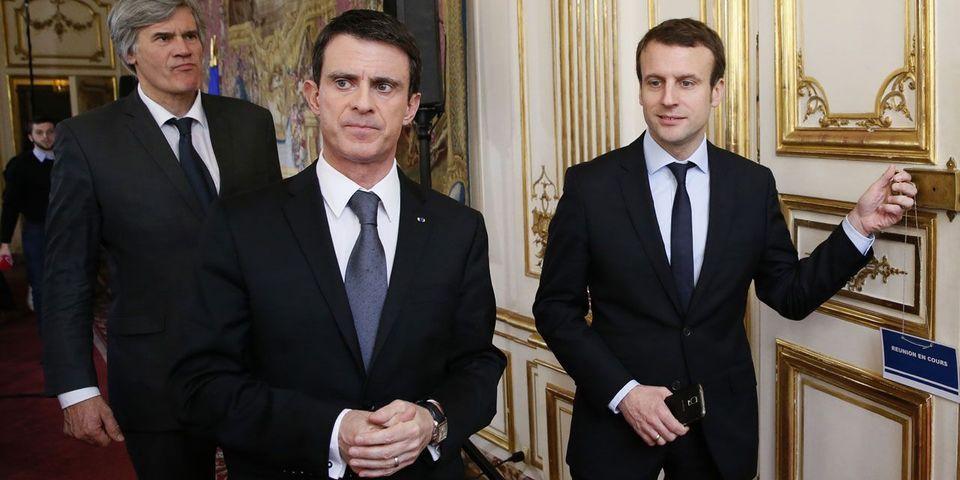 """Manuel Valls jure que """"tout ce qui est dit sur les relations"""" entre Macron et lui """"c'est entièrement faux"""""""