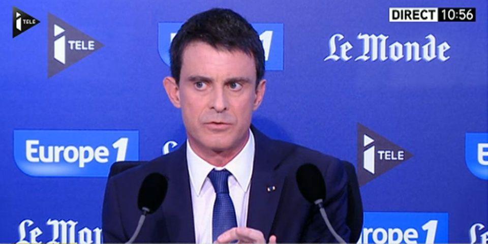 """Manuel Valls : """"Moi, je revendique la stigmatisation de Marine Le Pen"""""""