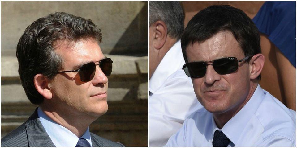 """Manuel Valls moque Arnaud Montebourg : """"À défaut d'être habité, il est chez Habitat..."""""""