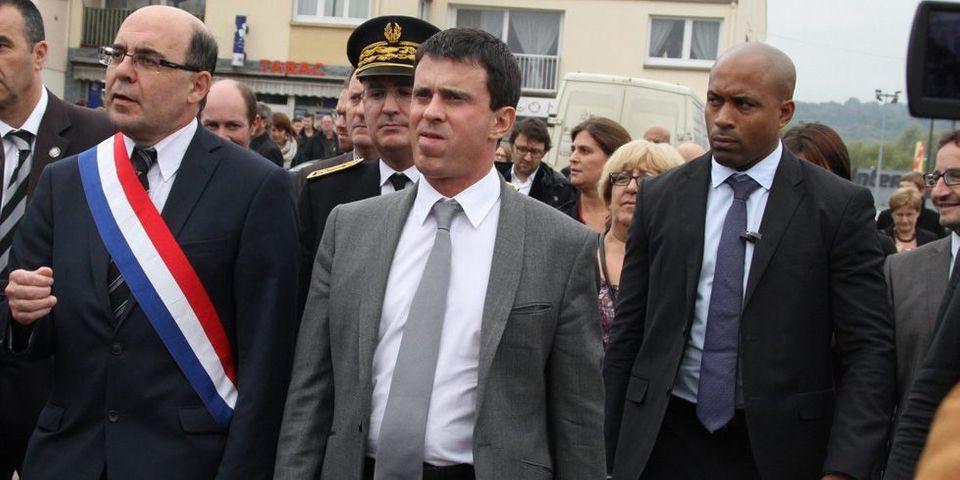 Manuel Valls présent sur le tournage d'un film d'Alexandre Arcady consacré à l'affaire Ilan Halimi