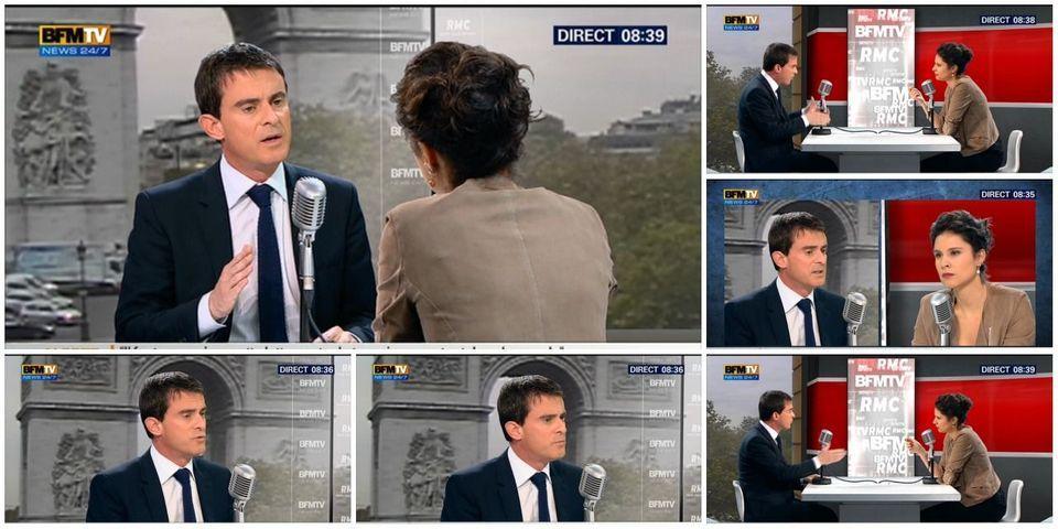 """Manuel Valls envisage un changement de nom du PS et se montre réticent à dire qu'il est """"socialiste"""""""