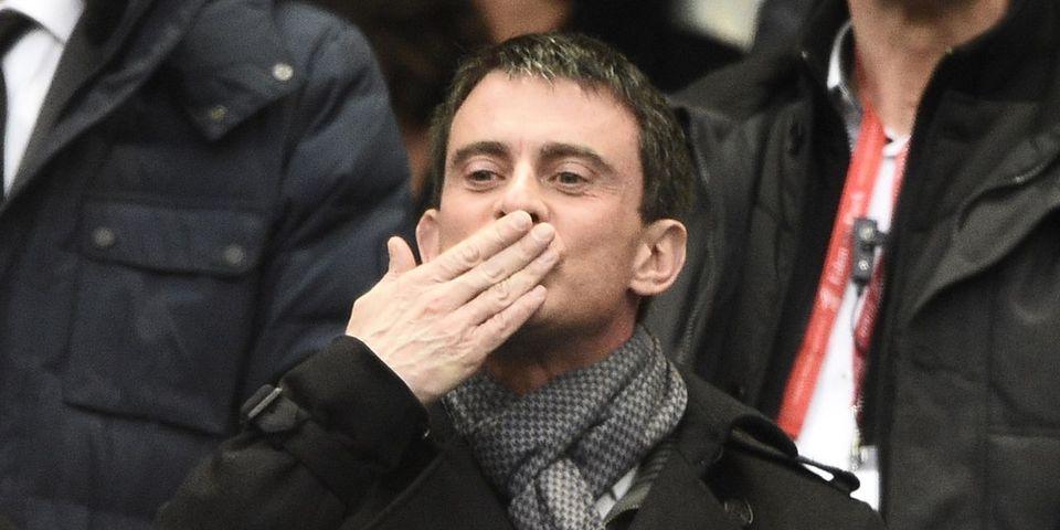 Manuel Valls récupère le #JeSuisLaBandeDeValls lancé par le Printemps républicain pour le défendre face à Mélenchon