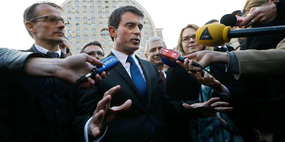 """Manuel Valls refuse de répondre sur le chômage parce qu'il est """"en campagne"""" et qu'il ne fait pas """"deux choses à la fois"""""""