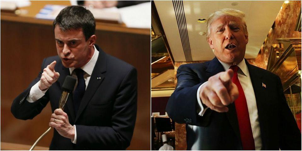 """Manuel Valls répond à Donald Trump sur Twitter : """"La France est toujours la France"""""""
