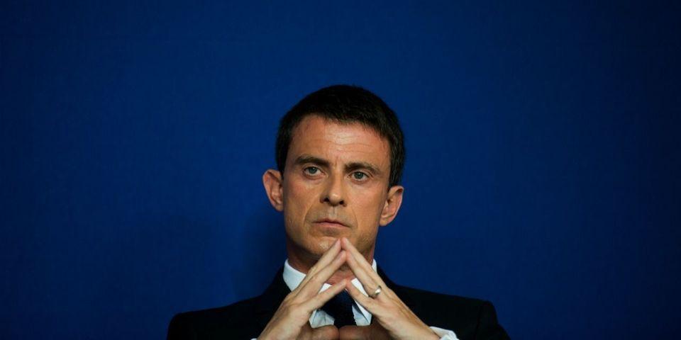 """Manuel Valls trouve que Jean-Luc Mélenchon est """"dangereux"""""""