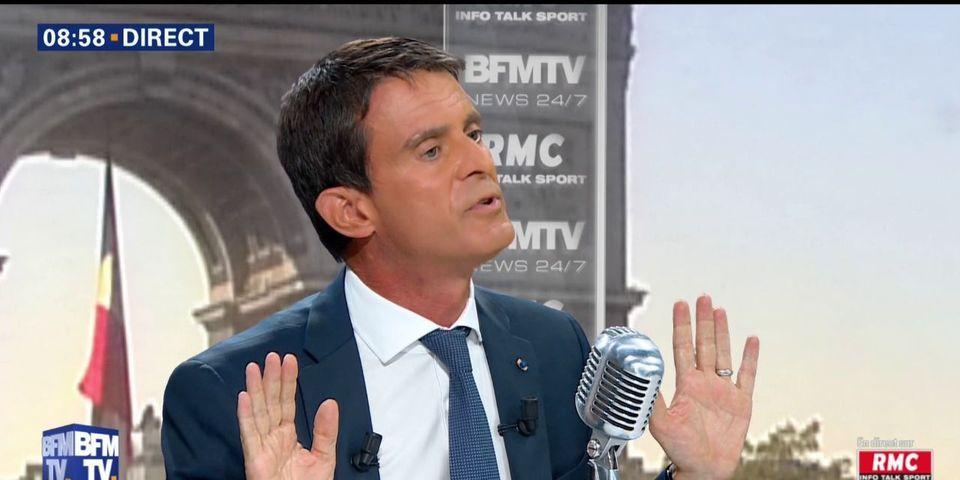 """Manuel Valls voit dans le port du voile islamique """"une revendication politique"""""""