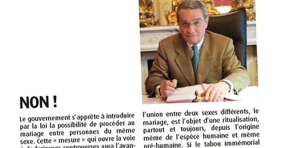 Mariage gay : l'UMP commence à râler sur les propos d'un élu parisien