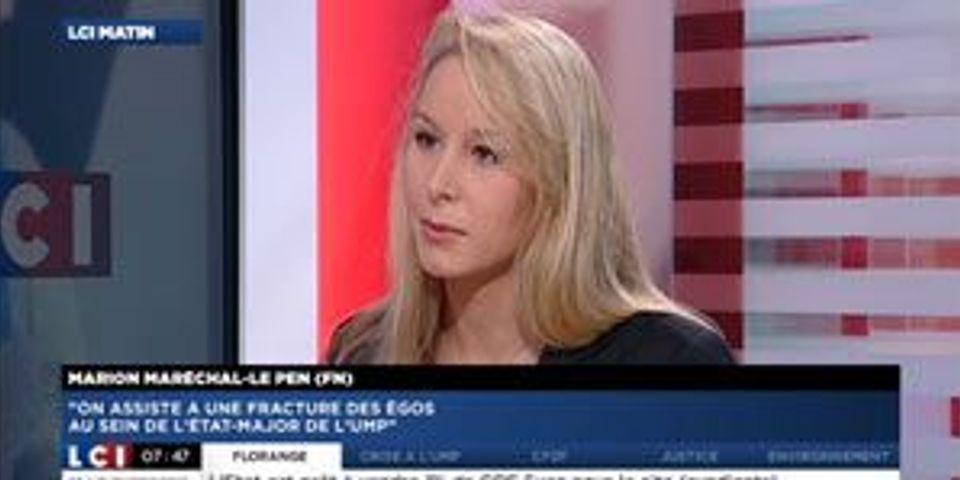 Mariage homo: Marion Maréchal-Le Pen agite aussi l'argument de la polygamie