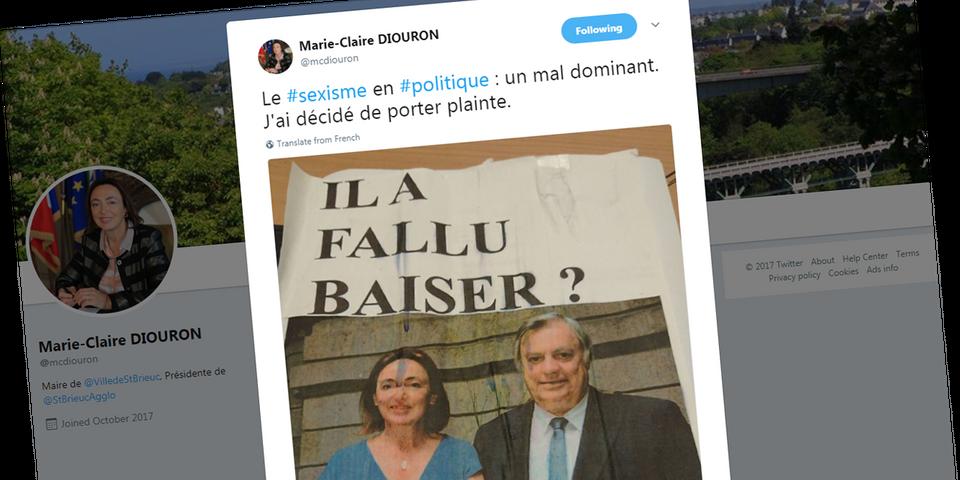 La Maire De Saint Brieuc Marie Claire Diouron Porte Plainte Contre
