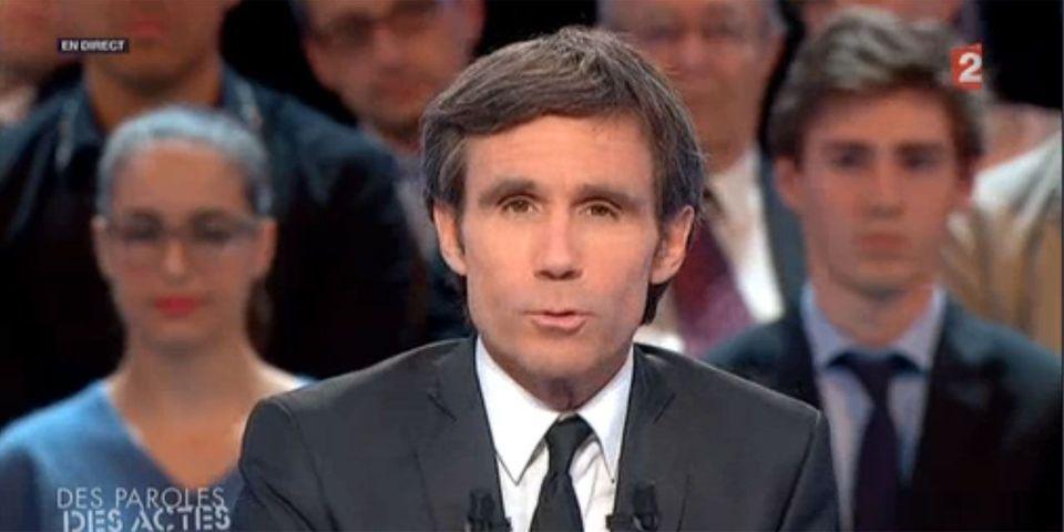 Marine Le Pen à DPDA : David Pujadas règle ses comptes avec un journaliste de Libération en ouverture d'émission