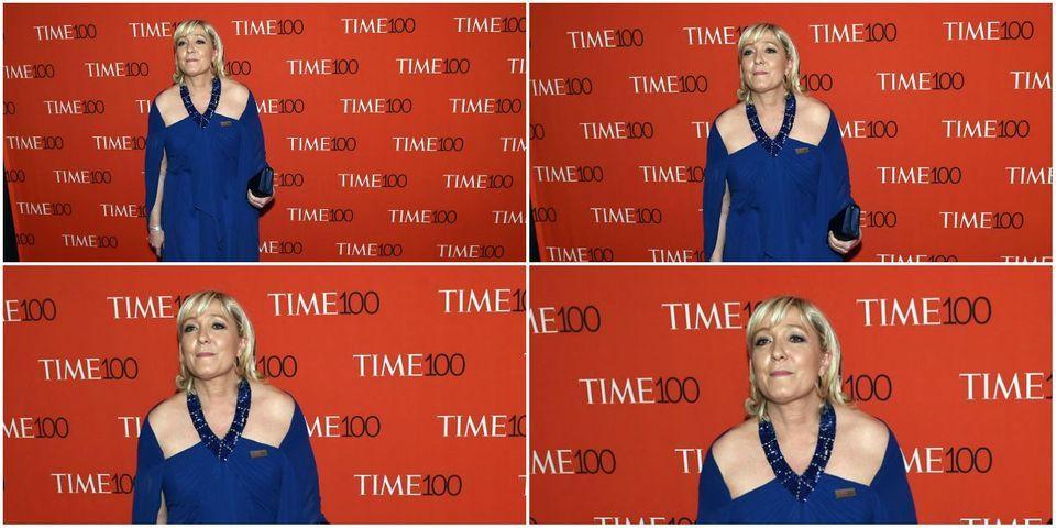 Gala du Time: tapis rouge pour Marine Le Pen outre-Atlantique