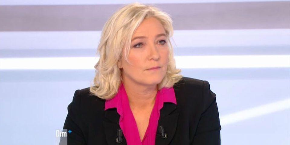 Marine Le Pen charge Jean-François Copé et ménage François Fillon