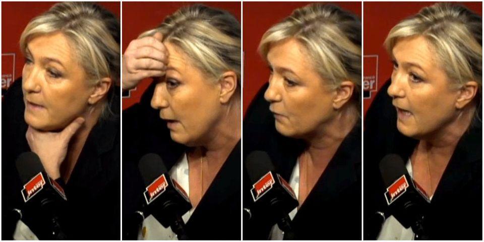 Marine Le Pen désavoue Aymeric Chauprade et Jean-Marie Le Pen