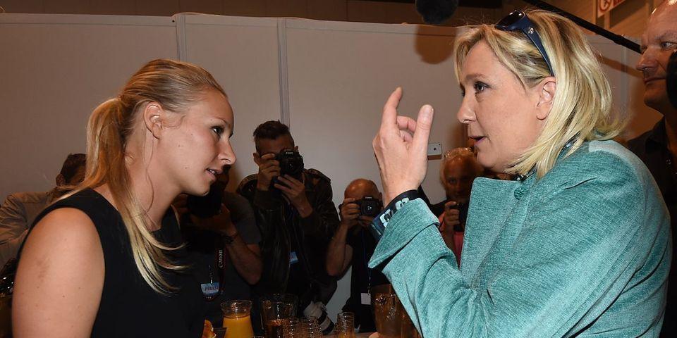Marine Le Pen désavoue Marion Maréchal-Le Pen sur la suppression des subventions aux plannings familiaux