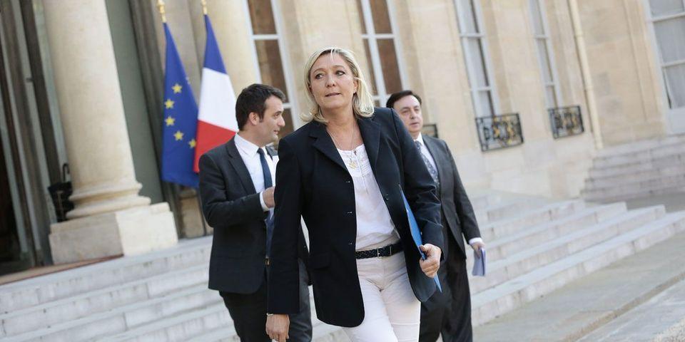 """Marine Le Pen dit partager des """"valeurs communes"""" avec Vladimir Poutine"""