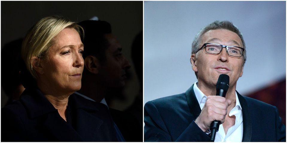 """Marine Le Pen écrit au CSA à propos de l'émission de Laurent Ruquier """"On n'est pas couché"""""""