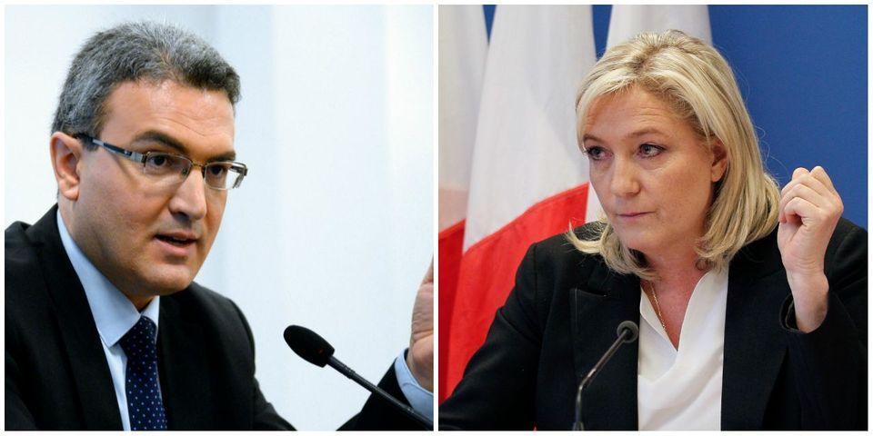 """Marine le Pen estime qu'Aymeric Chauprade la """"met en danger médiatique"""""""