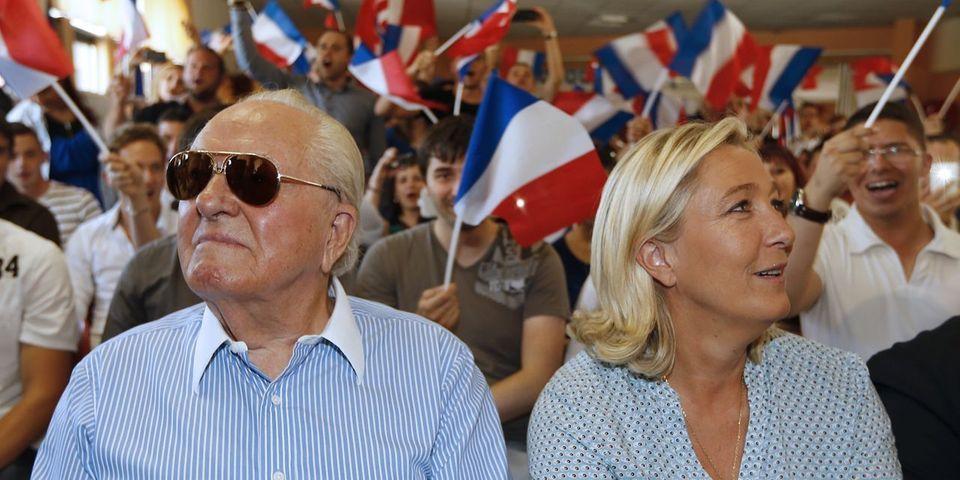 """Selon Le Point, Marine Le Pen estime que Jean-Marie Le Pen """"n'est plus dans la ligne du FN"""" : """"la ligne du parti, c'est moi"""""""
