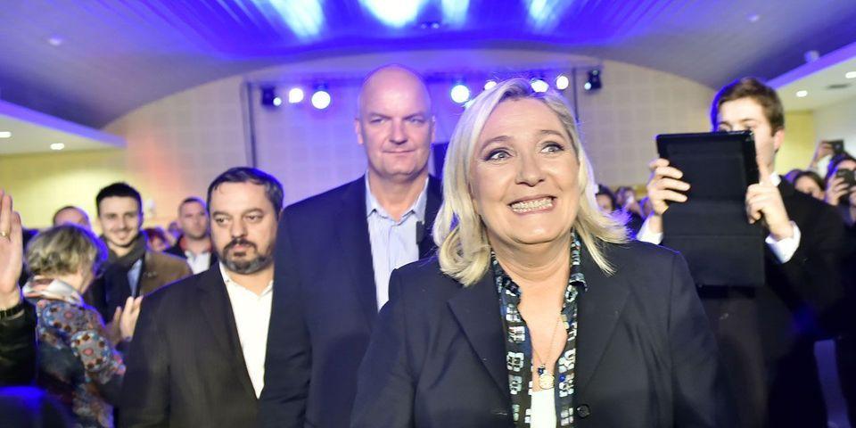 """Marine Le Pen évoque les résultats """"formidables"""" du Royaume-Uni depuis le Brexit, qui n'a pas encore été déclenché"""