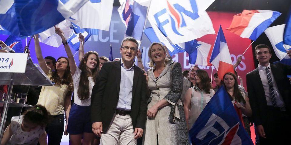 """Marine Le Pen évoque un """"shadow cabinet"""" en citant un membre du FN avec qui elle a pris ses distances récemment"""