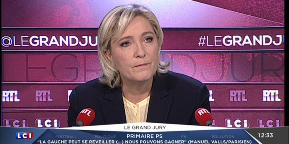"""Marine Le Pen explique que sa position sur l'IVG en 2012 était une """"concession"""" faite à la frange dure du FN"""