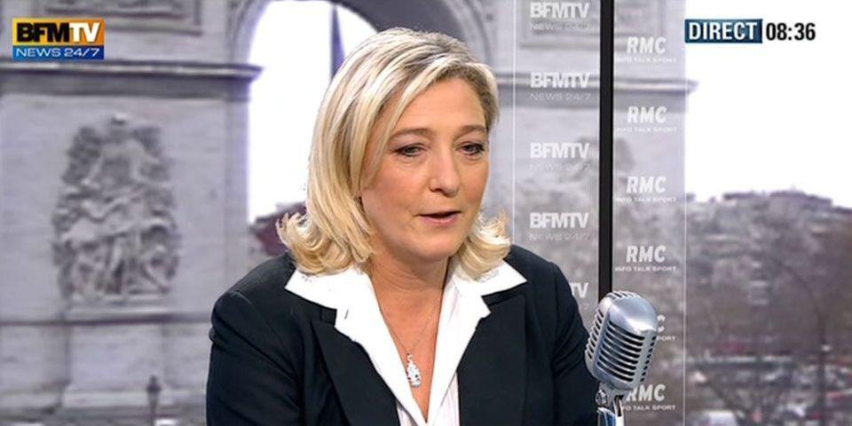 """Marine Le Pen : """"L'UMP, c'est terminé"""""""