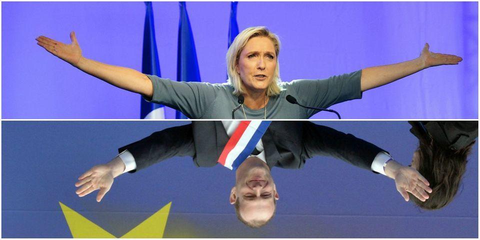 """Marine Le Pen loue la liberté de la presse pendant que Steeve Briois égratigne la ligne éditoriale de la """"Voix du Nord"""""""