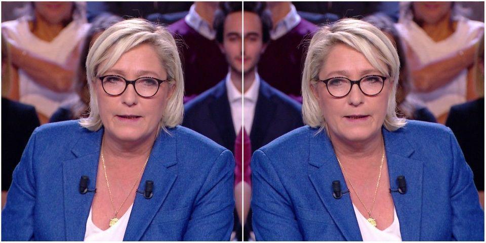 Marine Le Pen n'est plus très sûre de vouloir quitter l'euro, mais pas non plus d'y rester, bref c'est compliqué