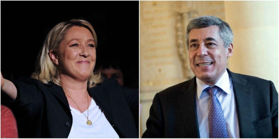 """Déjà qualifiée, Marine Le Pen parraine Henri Guaino pour la présidentielle au nom du """"pluralisme"""""""