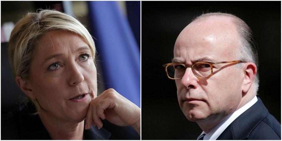 Marine Le Pen propose à Bernard Cazeneuve de débattre avec elle sur la suspension de Schengen