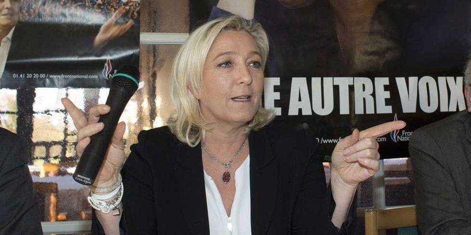 """Marine Le Pen : """"Quand je suis à Beaucaire, j'ai pas envie d'avoir le sentiment d'être à Rabat"""""""
