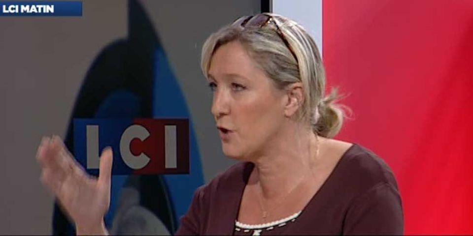 Marine Le Pen réitère son parallèle entre les prières de rue musulmanes et l'occupation