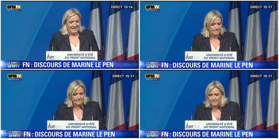 Marine Le Pen revient aux fondamentaux et fait de l'immigration le thème central de son programme