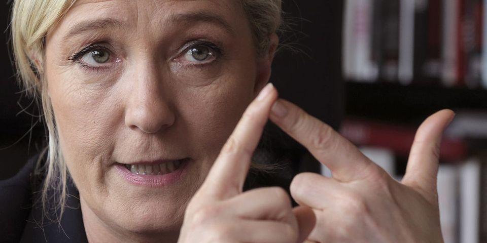 Marine Le Pen se désole de voir le PSG champion de France de football pour la deuxième année consécutive