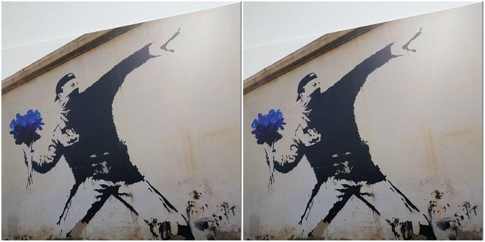 Marine Le Pen se réapproprie une œuvre de Banksy, artiste engagé pour les migrants