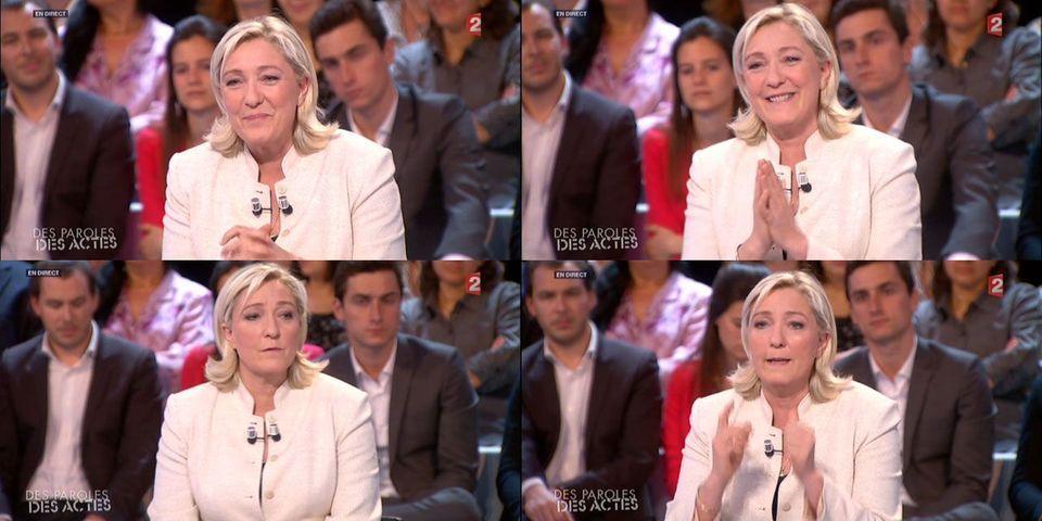 """DPDA : Marine Le Pen ravie de débattre avec Alain Lamassoure plutôt qu'avec """"les hôtesses d'accueil"""" de l'UMP"""