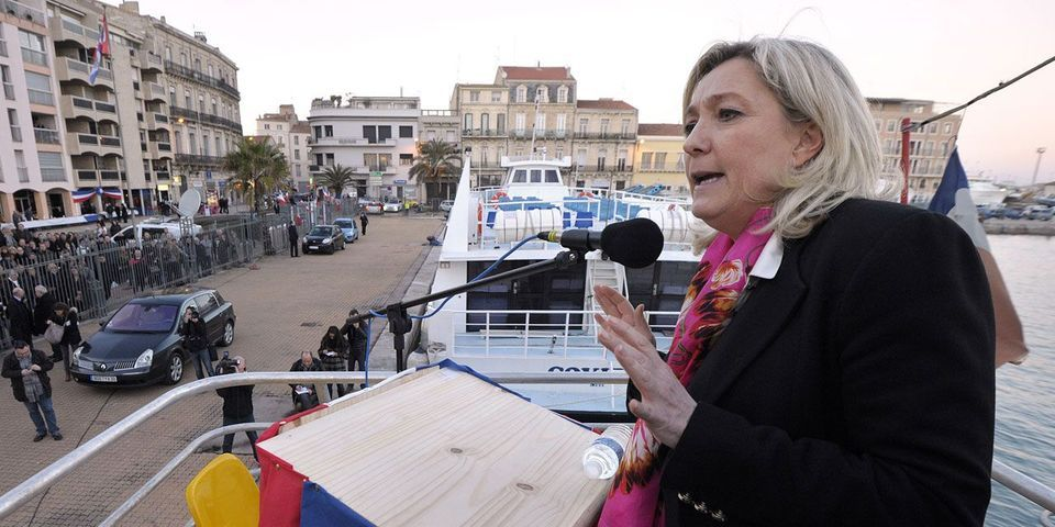 """Marine Le Pen va baptiser son local de campagne """"L'Escale"""""""