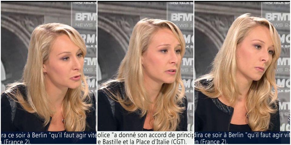 """Marion Maréchal-Le Pen """"assume parfaitement"""" les amendements qu'elle a déposés sur la loi Travail et retirés à la demande de Marine Le Pen"""