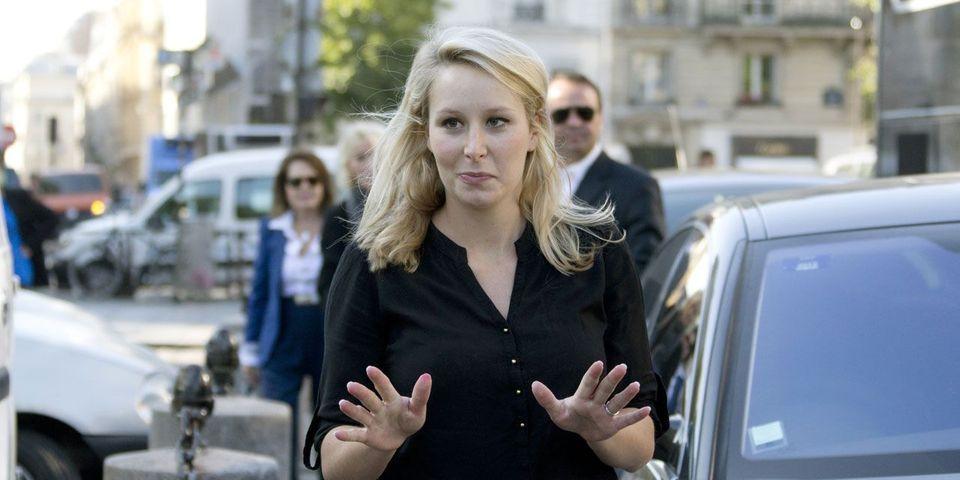 Marion Maréchal-Le Pen au pèlerinage de Chartres